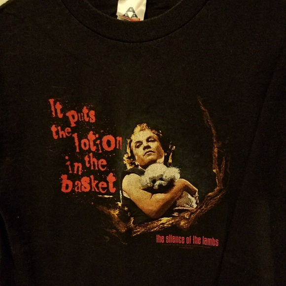 f64e2ab39799b Horror Silence of the lambs shirt 🐑🔪